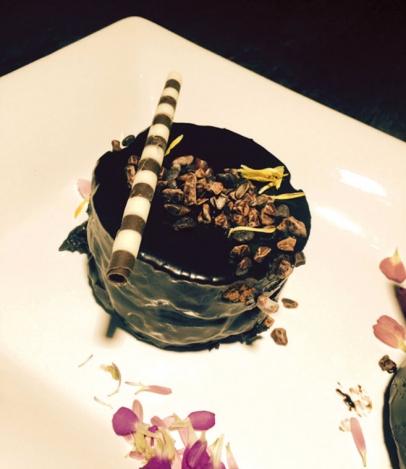 Five Crowns dessert