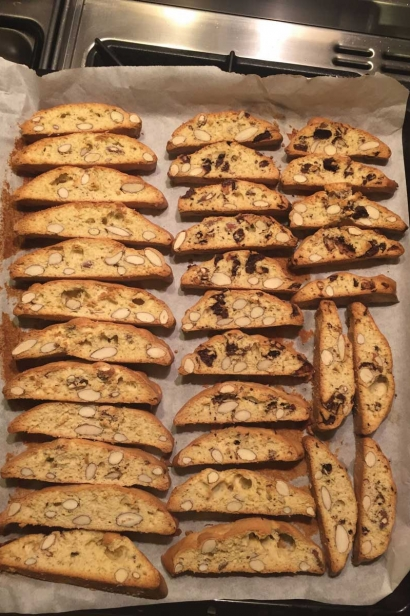Homemade Biscotti - a treat for all.