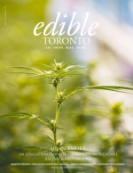 July/August 2018 Edible Toronto Cover